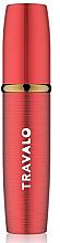 Voňavky, Parfémy, kozmetika Plniteľný rozprašovač parfumov, červený - Travalo Lux Red Refillable Spray