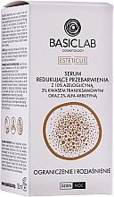 Voňavky, Parfémy, kozmetika Sérum na tvár proti blednutiu - BasicLab Esteticus Anti-Discoloration Face Serum