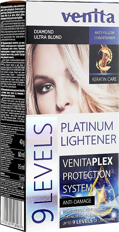 Zosvetľovač o 9 tónov - Venita Plex Platinum Lightener