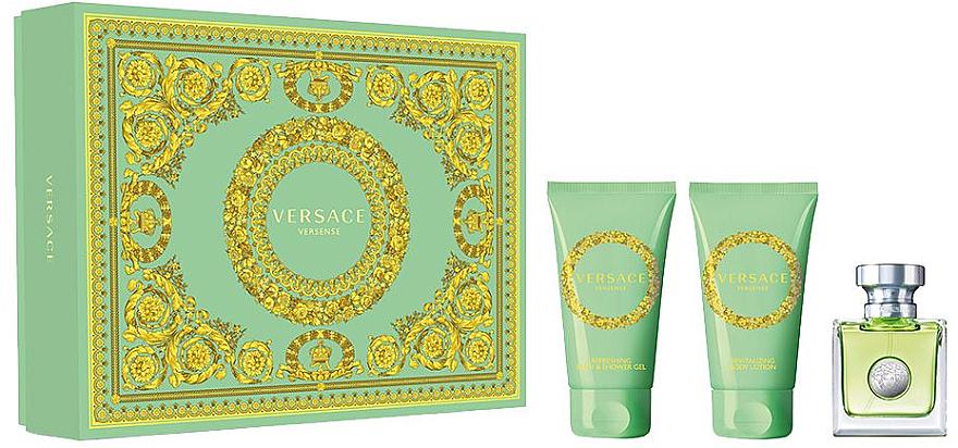 Versace Versense - Sada (edt/50ml + b/lot/50ml + sh/g/50ml)