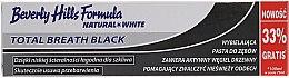 Voňavky, Parfémy, kozmetika Zubná pasta - Beverly Hills Formula Natural White Total Breath Black