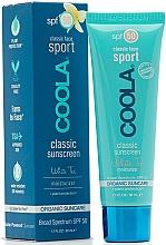 Voňavky, Parfémy, kozmetika Ochranný pleťový krém - Coola Classic Sport Face Spf 50 White Tea