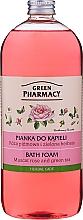 """Voňavky, Parfémy, kozmetika Penový kúpeľ """"Muškatová ruža a Zelený čaj"""" - Green Pharmacy"""