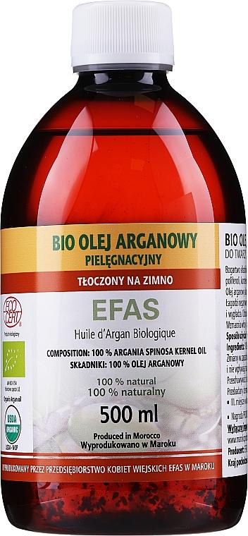 Arganový olej kozmetický, plastová fľaša - Efas Argan Oil 100% BIO
