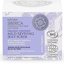 Voňavky, Parfémy, kozmetika Obnovujúci jemný peeling-želé na tvár - Natura Siberica Organic Certified Mild Reviving Jelly-Scrub