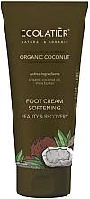 Voňavky, Parfémy, kozmetika Zjemňujúci krém na nohy - Ecolatier Organic Coconut Foot Cream