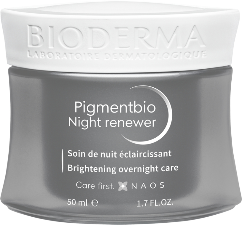 Krém na tvár - Bioderma Pigmentbio Night Renewer Brightening Overnight Care