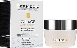 Voňavky, Parfémy, kozmetika Denný krém s fyto Estrogénmi spomaľuje starnutie pleti 40-60+ - Dermedic Oilage Tri Oleum