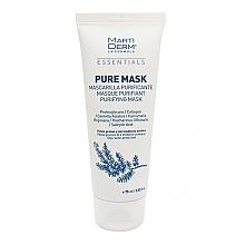 Voňavky, Parfémy, kozmetika Maska pre mastnú a náchylnú k akné pokožku - MartiDerm Essentials Pure-Mask