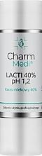 Voňavky, Parfémy, kozmetika Kyselina mliečna 40% - Charmine Rose Charm Medi Lacti 40% pH 1.2
