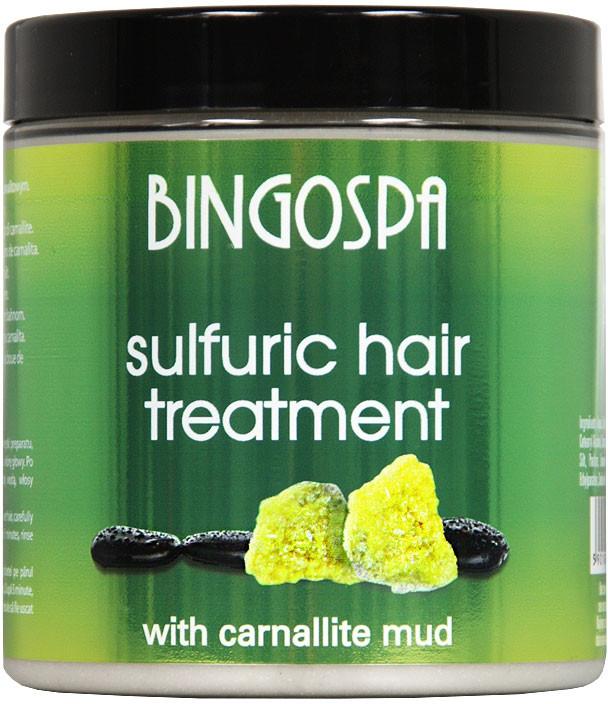 Maska na vlasy - BingoSpa Treatment For Hair With Mud Karnalitowym — Obrázky N1