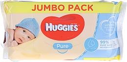 Voňavky, Parfémy, kozmetika Detské vlhké obrúsky Pure 72 ks - Huggies