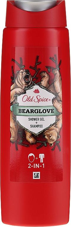 Šampónový sprchový gél 2v1 - Old Spice Bearglove Shower Gel + Shampoo