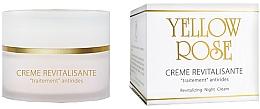 Voňavky, Parfémy, kozmetika Nočný regeneračný krém - Yellow Rose Creme Revitalisante