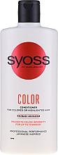 Voňavky, Parfémy, kozmetika Balzam pre farbené a tónované vlasy - Syoss Color Tsubaki Blossom Conditioner