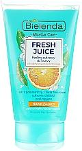 """Voňavky, Parfémy, kozmetika Hydratačný peeling na tvár """"Pomaranč"""" - Bielenda Fresh Juice Peel"""