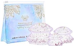 Voňavky, Parfémy, kozmetika Silikónové masážne banky na telo - Crystallove Crystal Body Cupping Set