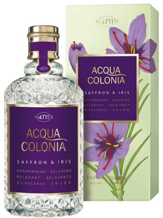 Maurer & Wirtz 4711 Acqua Colonia Saffron & Iris - parfém