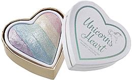 Voňavky, Parfémy, kozmetika Rozjasňovač - I Heart Revolution Unicorns Heart