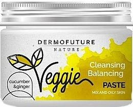 Voňavky, Parfémy, kozmetika Pasta na mastnú pleť tváre - DermoFuture Ginger & Cucumber Pasta