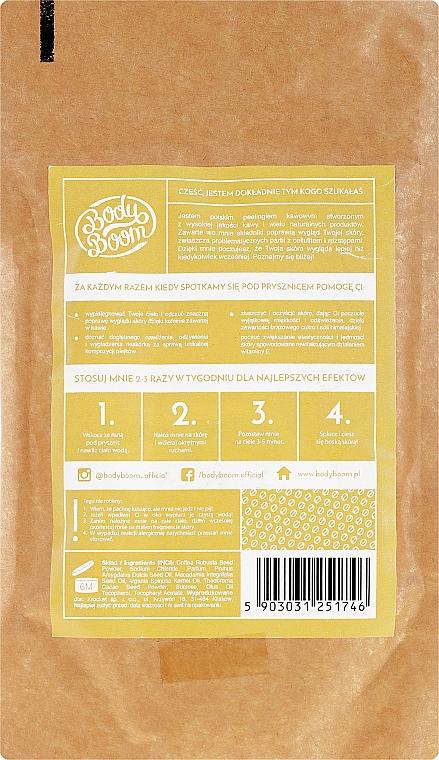 Kávový scrub, banán - BodyBoom Coffee Scrub Banana — Obrázky N2