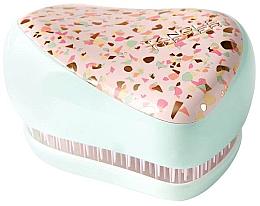 Voňavky, Parfémy, kozmetika Kompaktná kefa na vlasy - Tangle Teezer Compact Styler Terazzo