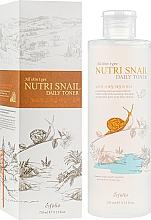 Voňavky, Parfémy, kozmetika Výživné tonikum so slimačím slizom - Esfolio Nutri Snail Daily Toner