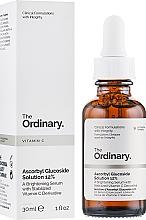 Voňavky, Parfémy, kozmetika Rozjasňujúce sérum na báze stabilizovaného derivátu vitamínu C - The Ordinary Ascorbyl Glucoside Solution 12%