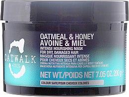 Voňavky, Parfémy, kozmetika Regeneračná maska na vlasy - Tigi Catwalk Oatmeal & Honey Nourishing Mask