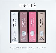 Voňavky, Parfémy, kozmetika Sada rúžov, zväčšenie pier - Procle Volume Lip Balm (lip/balm/3.5g x 4)