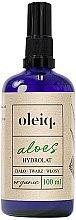 Voňavky, Parfémy, kozmetika Hydrolát z aloe na tvár, telo a vlasy - Oleiq Hydrolat Aloe