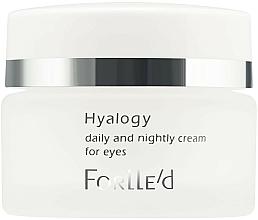 Voňavky, Parfémy, kozmetika Krém na pokožku okolo očí - ForLLe'd Hyalogy Daily And Nightly Cream For Eyes