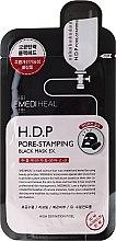 Voňavky, Parfémy, kozmetika Látková maska - Mediheal H.D.P. Pore-Stamping Black Mask EX