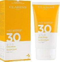 Voňavky, Parfémy, kozmetika Opaľovací krém na tvár - Clarins Solaire Corps Hydratante Cream SPF 30