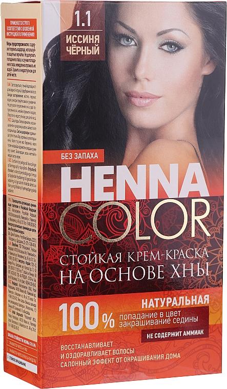 Odolná krém-farba s hennou na vlasy - Fito Kosmetik Henna Color