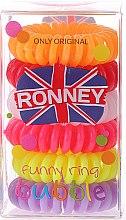 Voňavky, Parfémy, kozmetika Gumičky do vlasov - Ronney Professional Funny Ring Bubble 8