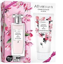 Voňavky, Parfémy, kozmetika Allverne Cherry Blossom & Musk - Sada (edp/50ml + b/lot/200ml)