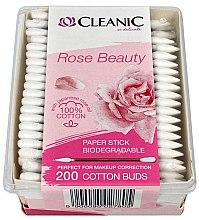 Voňavky, Parfémy, kozmetika Vatové tyčinky s olejom z japonskej ruže - Cleanic Rose Beauty Cotton Buds