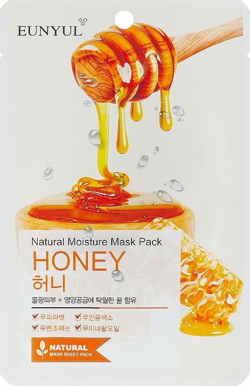 Textilná maska s medovým extraktom - Eunyul Natural Moisture Mask Pack Honey