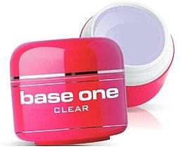 Voňavky, Parfémy, kozmetika Gél na nechty, bezfarebný - Silcare Base One Clear