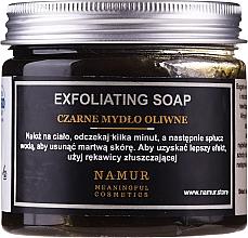 Voňavky, Parfémy, kozmetika Prírodné čierne mydlo - Namur Black Exfoliating Soap