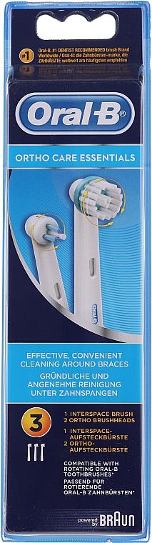 Náhradné hlavice pre elektrickú zubnú kefku - Oral-B Ortho Essentials — Obrázky N1