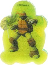 """Voňavky, Parfémy, kozmetika Detská špongia """"Korytnačky Ninja"""" Michelangelo 5 - Suavipiel Turtles Bath Sponge"""