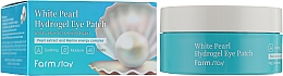 Voňavky, Parfémy, kozmetika Hydrogélové náplasti s perlovým extraktom - FarmStay White Pearl Hydrogel Eye Patch
