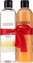 Voňavky, Parfémy, kozmetika Sada - BingoSpa Argan Madness (shm/ser/300ml + sh/cr/300ml)