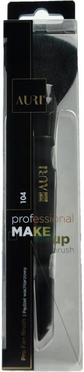Vejárový štetec na líčenie 104 - Auri Professional Fan Brush 104