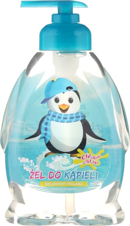 """Detský sprchový gél """"Tučniak chlapec"""" - Chlapu Chlap Bath & Shower Gel — Obrázky N1"""