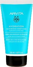 Voňavky, Parfémy, kozmetika Hydratačný kondicionér pre všetky typy vlasov s kyselinou hyalurónovou a aloe - Apivita Moisturizing Conditioner For All Hair Types With Hyaluronic Acid & Aloe