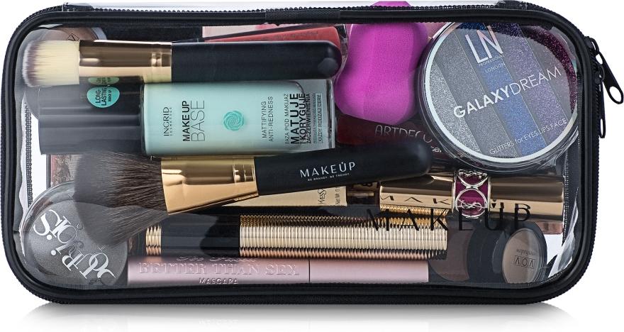 """Kozmetická taška priehľadná """"Visible Bag"""" 25x12x8 (bez kozmetických prostriedkov) - MakeUp"""