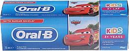 """Voňavky, Parfémy, kozmetika Detská zubná pasta """"Pomaranč"""" - Oral-B Kids Cars Toothpaste"""